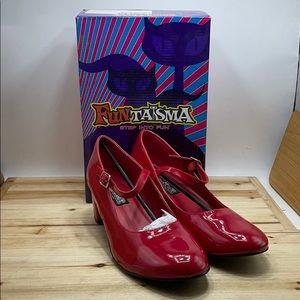 Funtasma Mary Jane Pumps Red Size 11m